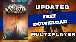 Download World of Warcraft: Shadowlands PC + Full Game Crack for Free [MULTIPLAYER]