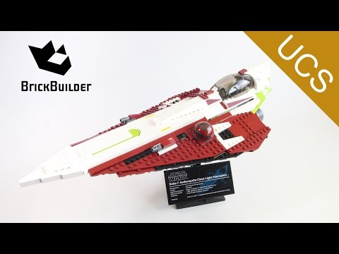 Lego UCS 10215 Obi-Wan's Jedi Starfighter - Special for 200.000 subscribers - Lego Speed Build