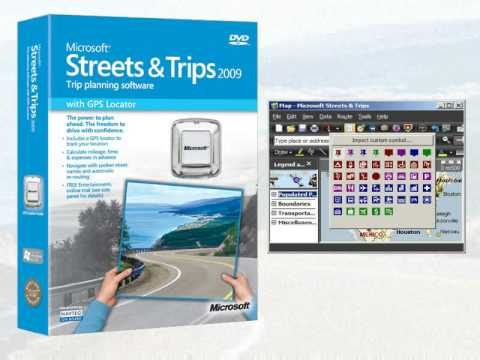 Microsoft® Streets and Trips 2009 - Adding Old Pushpins
