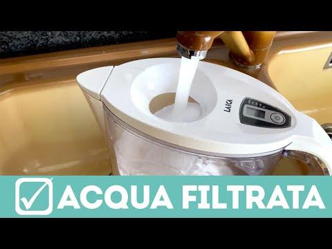 Come depurare l'acqua del rubinetto con la caraffa Laica