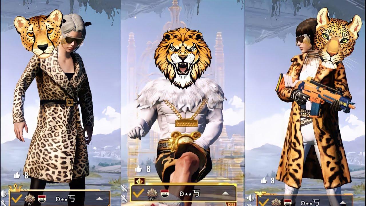 EP166: Big Cats on PUBGM - Leopard x Lion x Cheetah 🐆