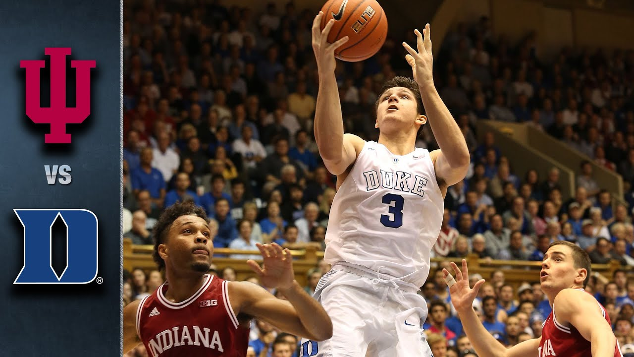 Image result for Duke vs Indiana Live  basketball pic logo