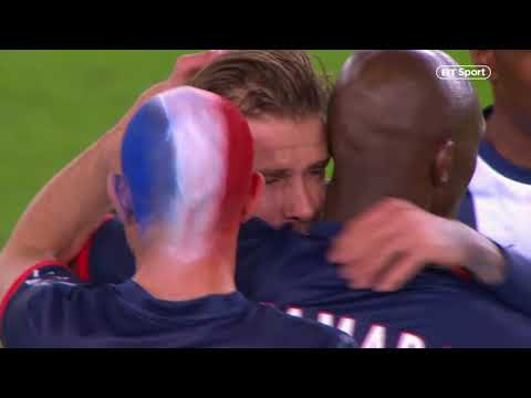 So emotional! David Beckham's final minutes as a professional footballer