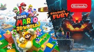 Beleef samen een wereld vol speelplezier in super mario 3d world + bowser's fury! (nintendo switch)