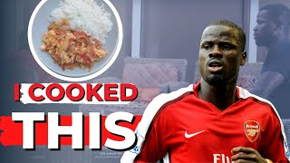 EMMANUEL EBOUE | ex-Arsenal defender COOKS for DENTAA