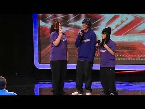 The X Factor 2009  - Triple Trouble - Auditions 1 -  (itv.com/xfactor)
