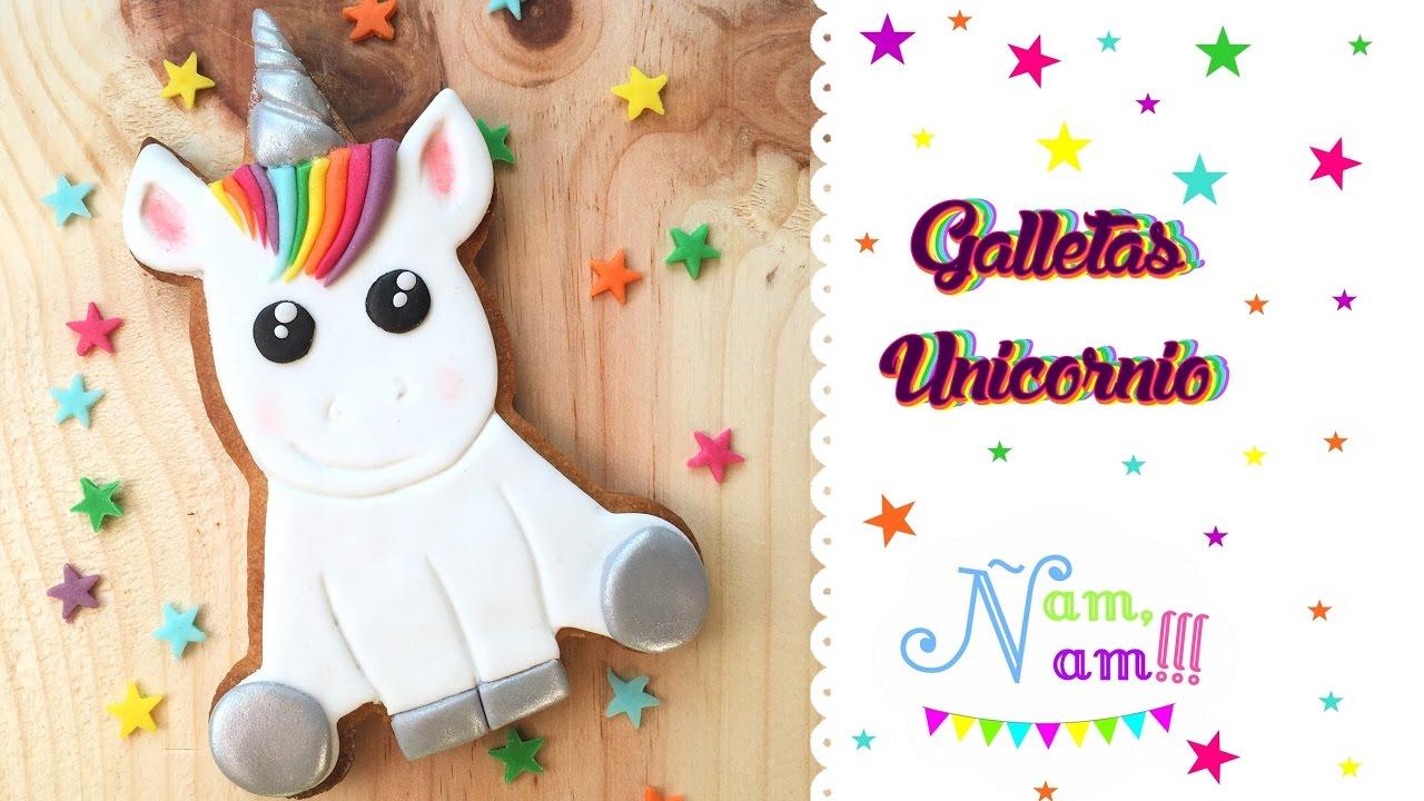 Cómo Decorar Galletas De Unicornios ñam ñam