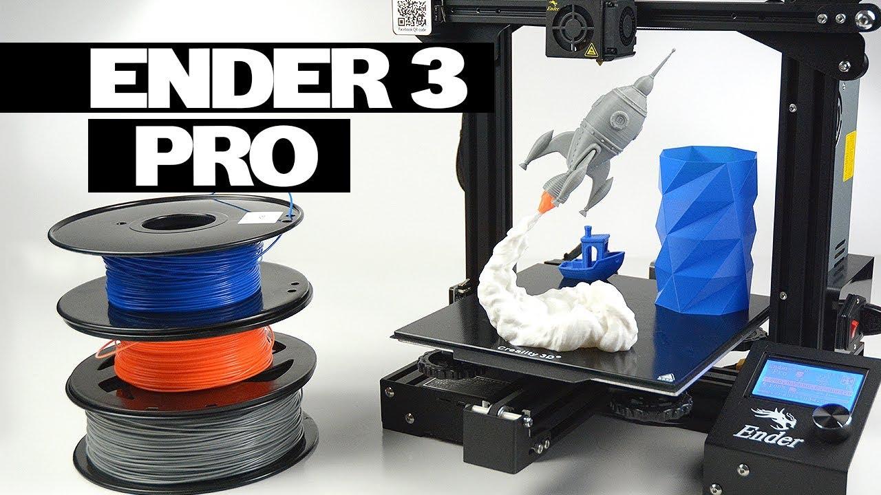 ENDER 3 PRO 3D PRINTER vs ENDER 3