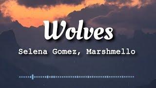 Selena Gomez, Marshmello - Wolves (Lyrics Video)