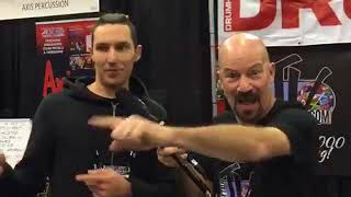 James Payne Interview at NAMM 18 on Drum Talk TV!