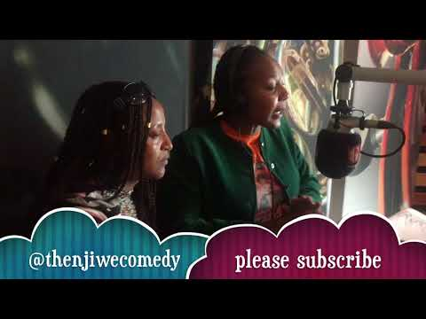 South African stand up comedian Thenjiwe radio interview