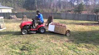 How To Build A Lawn Cart Free