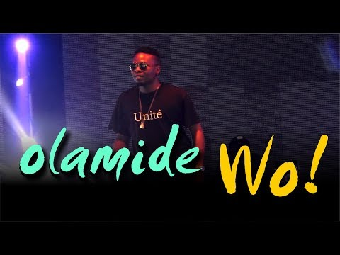 OLAMIDE PERFORMS WO live on stage in LONDON  | Fans goes wild