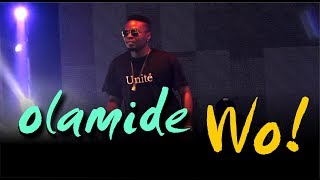 OLAMIDE PERFORMS WO live on stage in LONDON   Fans goes wild