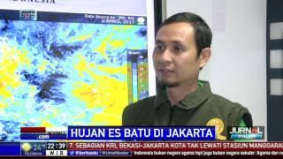 BMKG: Hujan Es Fenomena Yang Normal