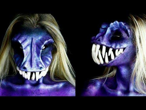 Tutorial De Maquillaje Profesional Para Halloween Terrorifico - Maquillaje-profesional-halloween