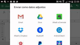 Microsoft EXCEL Android - Review Español