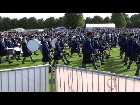 Forres European Pipe Band Championships 2015