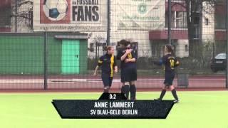 SFC Stern 1900 - SV Blau-Gelb Berlin (11er Frauen Berlin Liga) - Spielszenen   SPREEKICK.TV