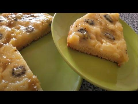 gateaux-aux-kiwi-كعك-كيوي👍👌😍🌹🙌