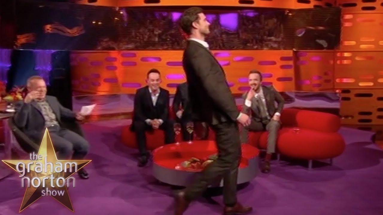 Download Jamie Dornan's Weird Walk - The Graham Norton Show