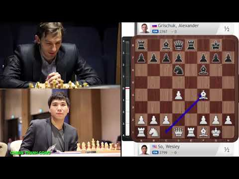 BERLIN DEFENSE!! Wesley So (2799) vs Alexander Grischuk (2767) || Candidates chess 2018 - Round 9