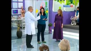 Energy Diet на канале РОССИЯ 1 в популярной программе