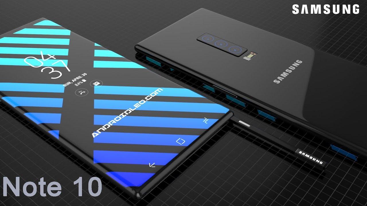 Samsung Galaxy Note 10 With 8gb Ram Triple Ai Camera