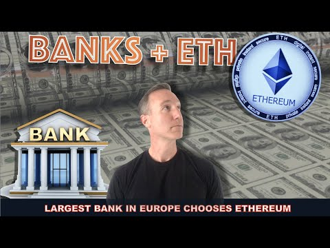 ONE OF THE LARGEST LENDING BANKS IN THE WORLD NOW USING ETHEREUM.