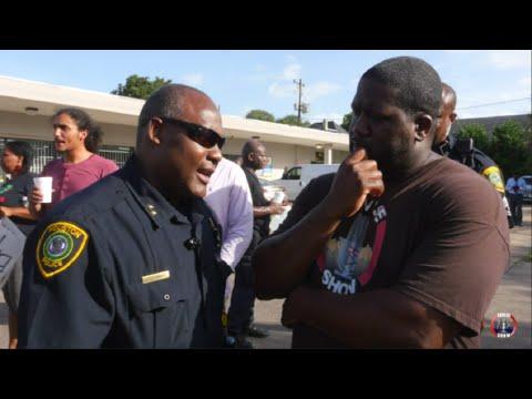 #BlackLivesMatter Houston Protest Injustice Of Black Men By Police