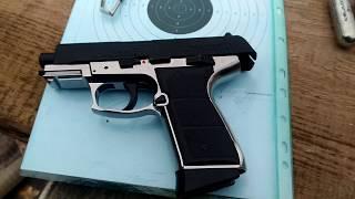Пневматический пистолет daisy 5501 миниобзор, стреляем по мишеням 5, 10 и 15 метров<