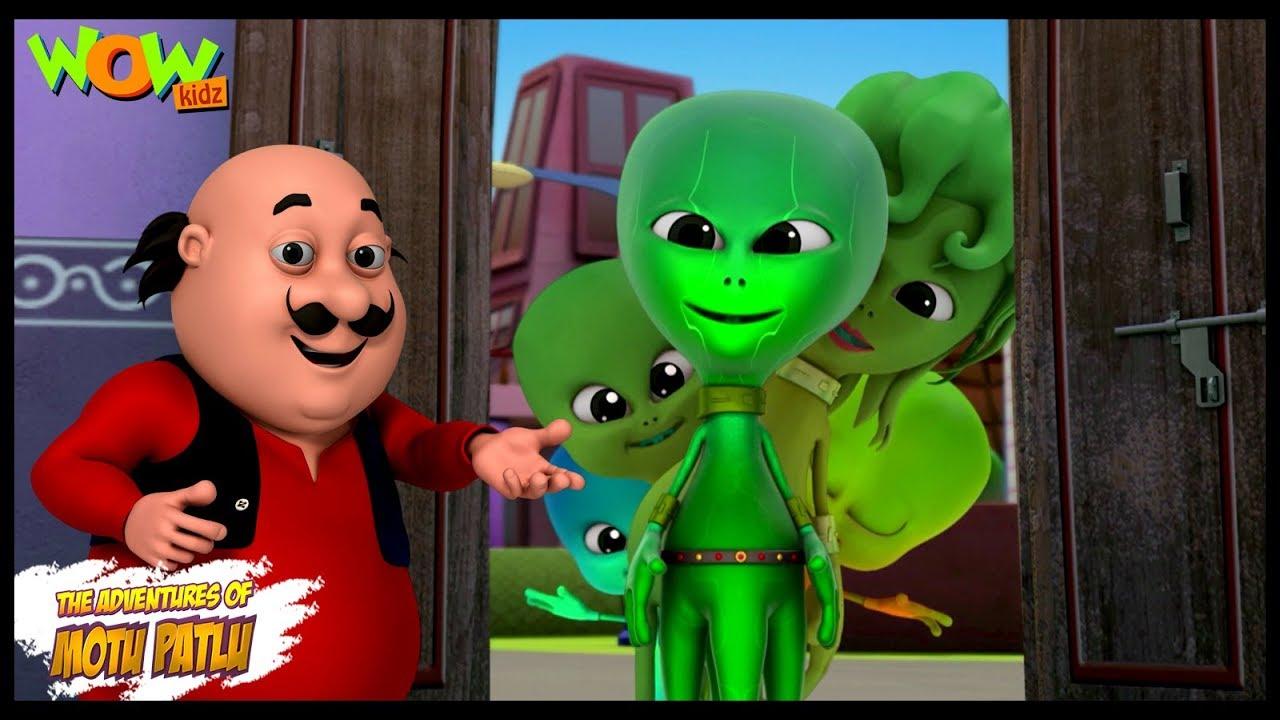 Download Motu Patlu New Episode | Hindi Cartoons For Kids | Aliens On Call | Wow Kidz