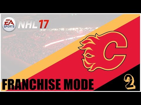 NHL 17 Franchise Mode | Calgary Flames - Osa 2 | Treidejä ja Pre Season!