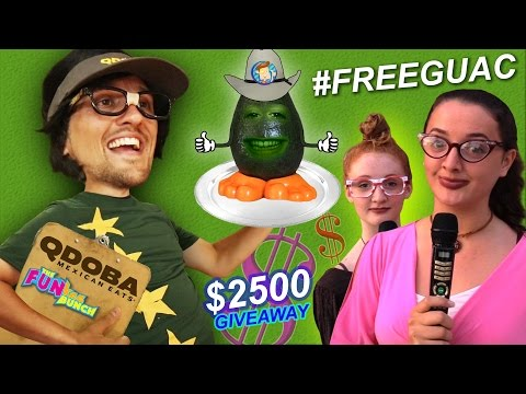 AVOCADO IN JAIL? FUNkee Bunch Gets Sneaky in Qdoba! Caught by MANAGER! #FREEGUAC