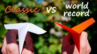 Download How to Fold the World Record Paper Airplane | Classic vs World Record Airplane Mp3 and Videos