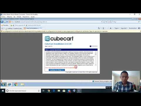¿Cómo instalar CubeCart 3.0.21?