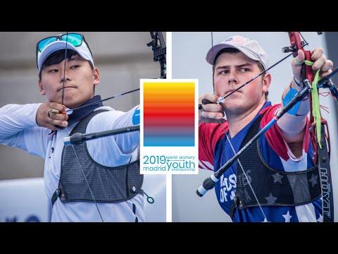 Kim Hyeonjong v Jack Williams  recurve junior men gold | World Archery Youth Championships 2019