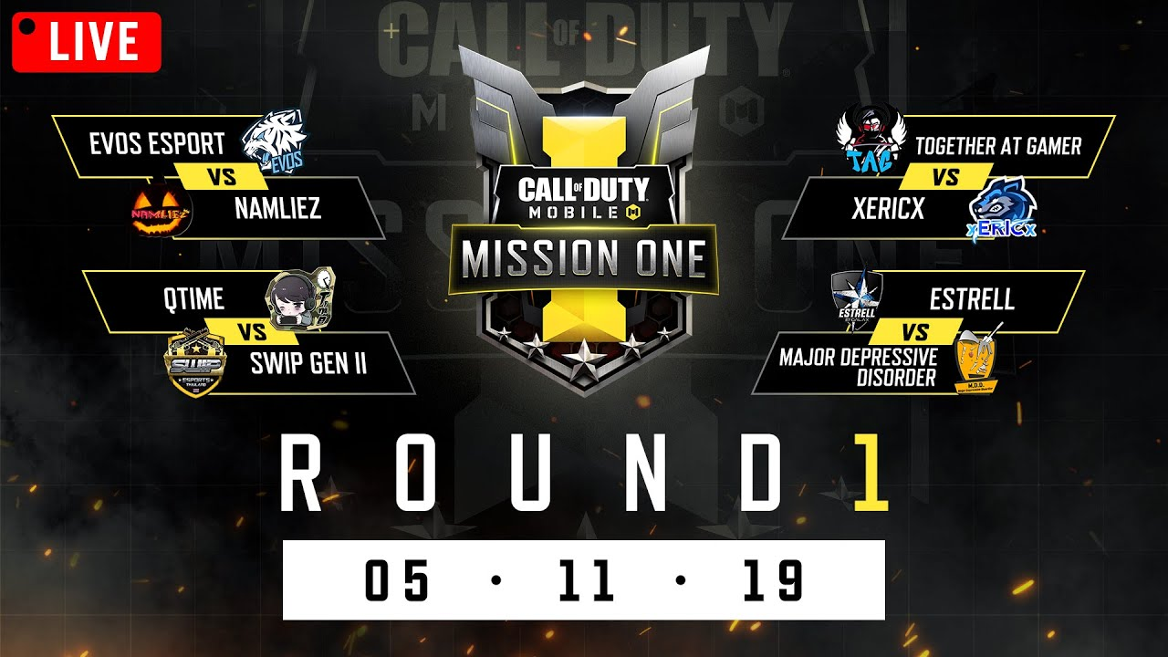 ????LIVE | CODM: Mission One | Round 1: 05/11/2019