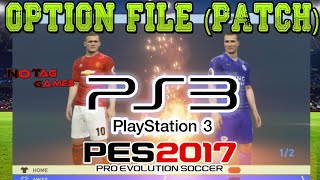 PES 2017 - OPTION FILE (PATCH) PS3 / Como baixar e instalar! (Emblemas, uniformes e etc)