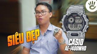 Casio Reviews #14   Đồng Hồ Casio AE-1400WHD-1AVDF - Quá Chất Với 1 Triệu Đồng
