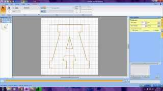 Creating an Applique Letter in PE-Design Next