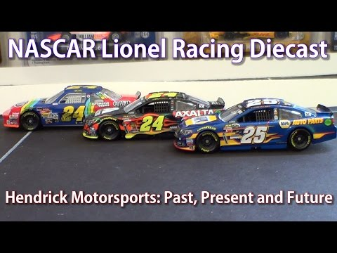 Lionel NASCAR: Hendrick Motorsports Past Present and Future HD Diecast Review