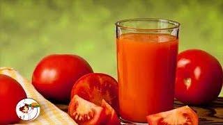 СОК  без соковыжималки. Домашний томатный сок в блендере.