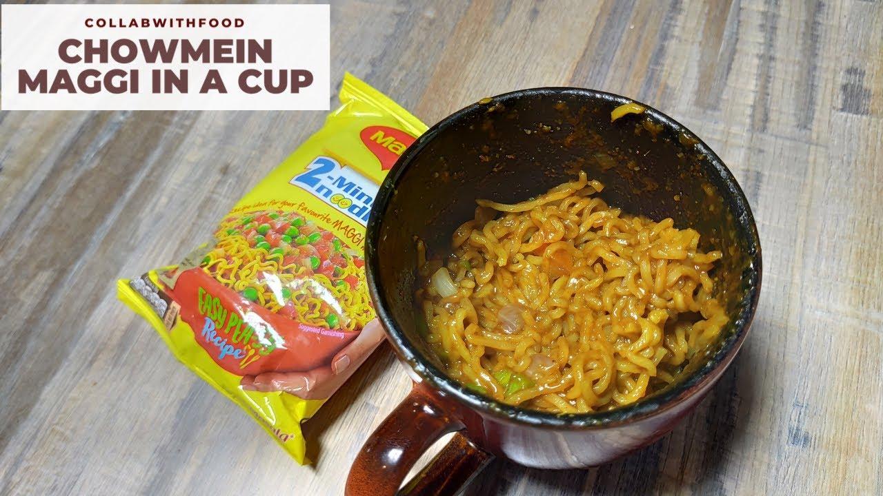 5 Minute Quick Maggi Recipe In a Cup!! ❤️|| Chowmein Maggi || Falak Jagwani || Recipe Video