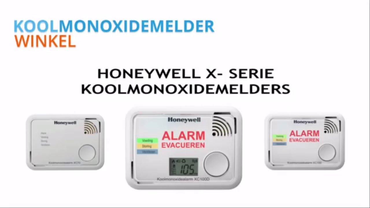 Koolmonoxidemelder Kopen Honeywell Koolmonoxidemelder Xc100d