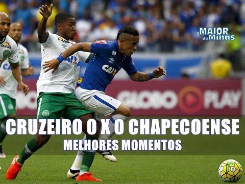 Cruzeiro 0 x 0 Chapecoense - Melhores Momentos - 31ª Rodada, Campeonato Brasileiro 2016