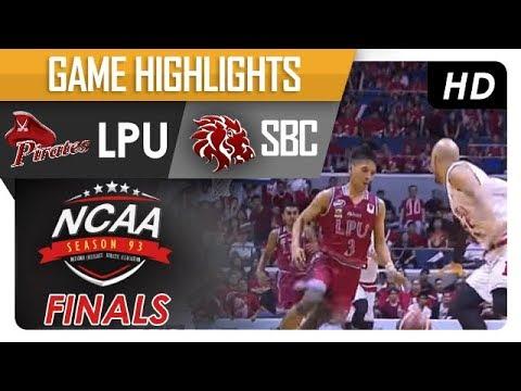 LPU vs. SBC | NCAA 93 | MB | Finals Game Highlights | November 16, 2017