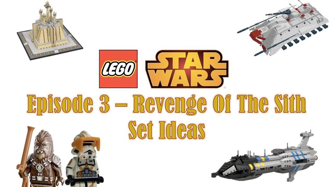 Lego Star Wars Set Ideas Episode 3 Revenge Of The Sith Youtube