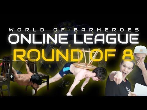 VIKTOR KAMENOV IN A WOB LEAGUE!!! INSANE HOMEWORKOUT CALISTHENICS BATTLES | WOBonline Round Of 8