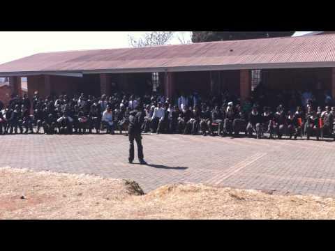 Orlando West High School (Soweto) Dance Off